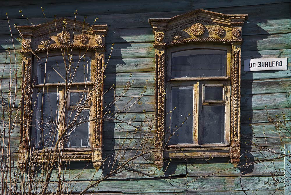 "photo ""Spring in Zaitseva street"" tags: city,"
