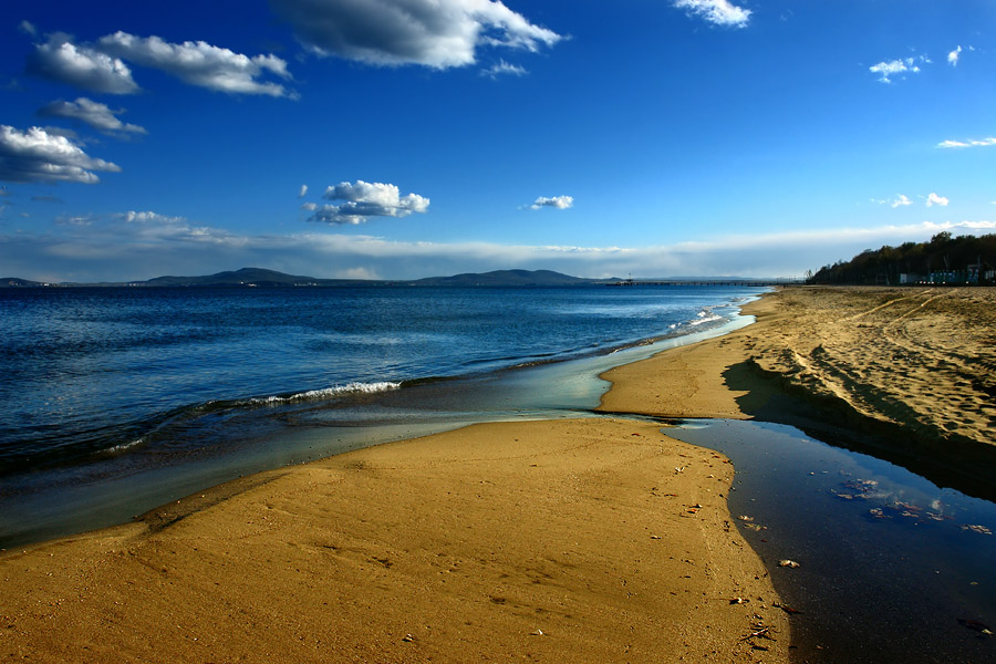 "photo ""Bourgas coast IV"" tags: landscape, water"