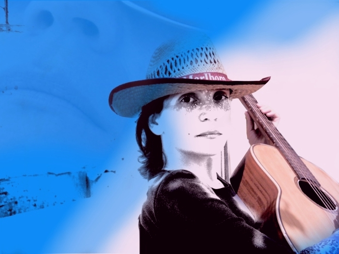 "photo ""Country Song 2"" tags: portrait, montage, woman"
