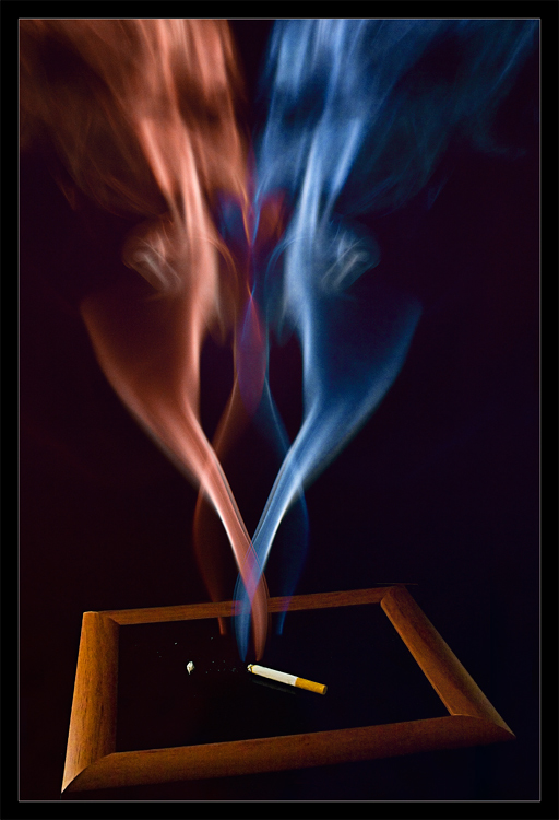 "photo ""Smoking Ghots"" tags: still life,"
