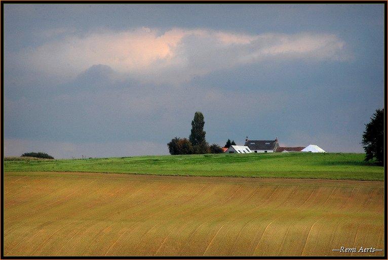 """фото """"Belgian landscape"""" метки: архитектура, пейзаж, весна"""