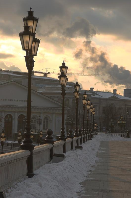 """фото """"На границе дня и ночи"""" метки: архитектура, пейзаж,"""