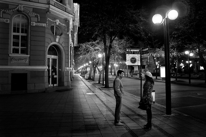 "photo ""Night street"" tags: city,"