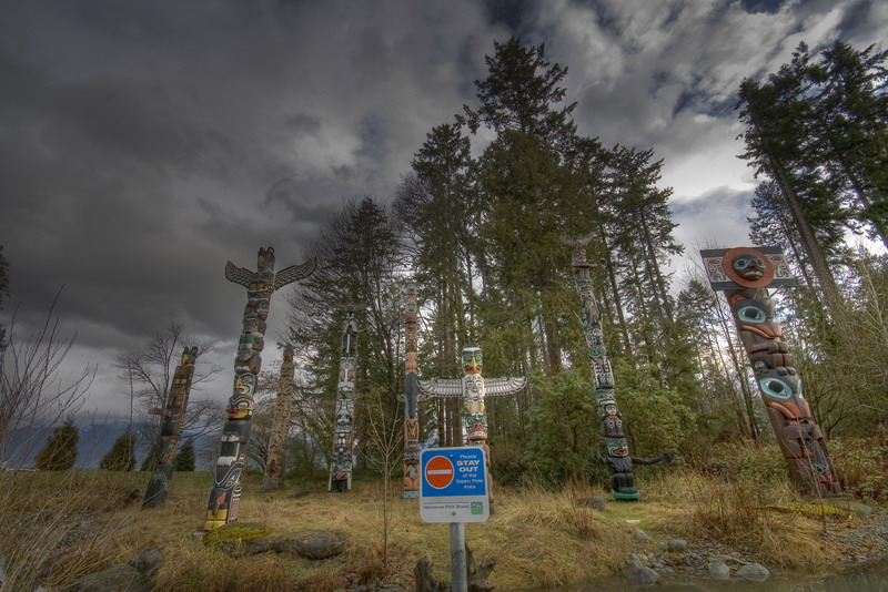 "photo ""STAY OUT"" tags: landscape, travel, North America, forest"