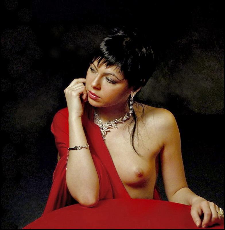 """фото """"красное и черное"""" метки: гламур, портрет, женщина"""