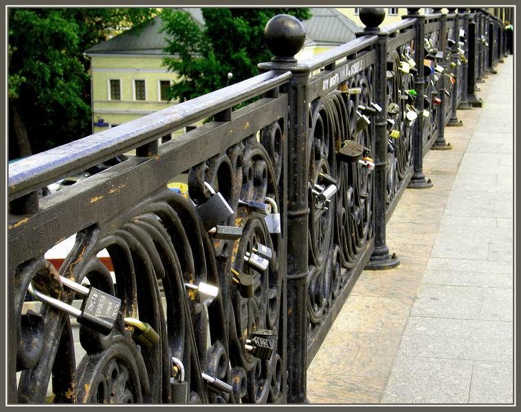 """фото """"Мост Любви"""" метки: ,"""