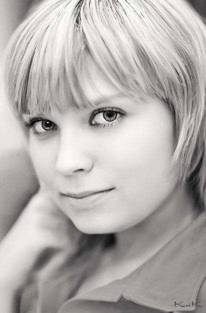 """photo """"Zose"""" tags: portrait, black&white, woman"""