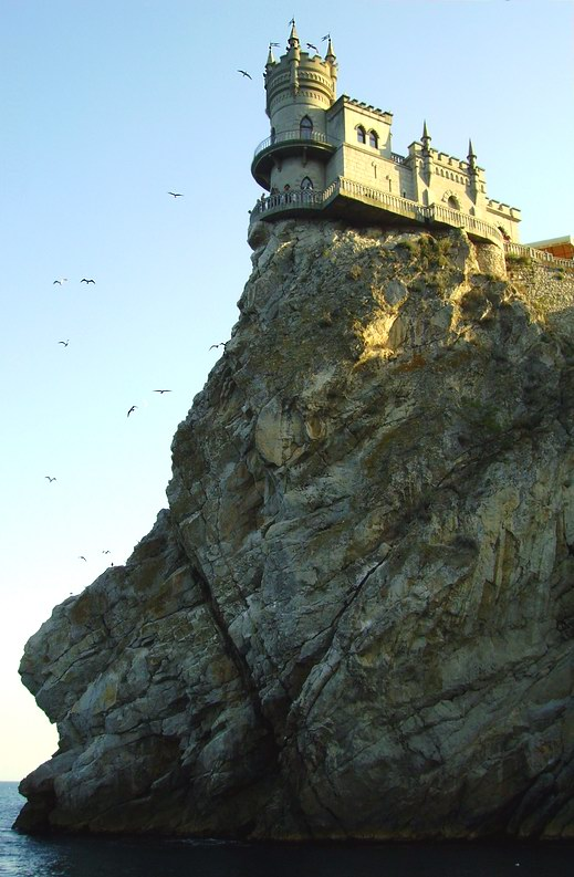 "photo ""Swallow's nest"" tags: landscape, travel, mountains"