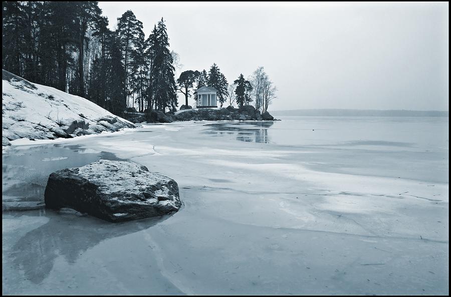 "фото ""Монрепо. Зима."" метки: пейзаж, зима"