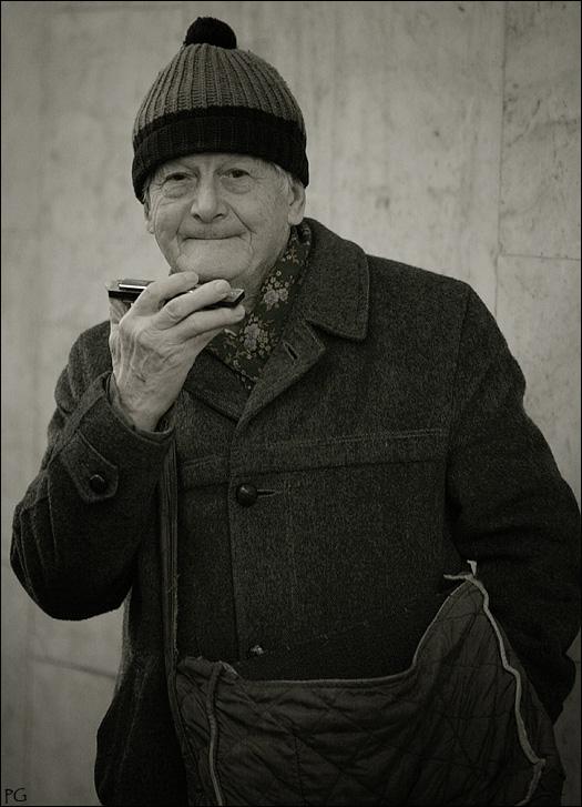 """фото """"гармошка"""" метки: портрет, мужчина"""