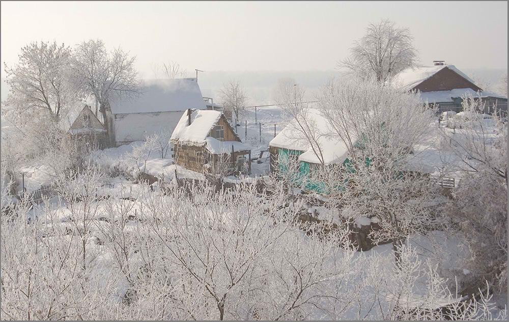 """фото """"Мороз и солнце..."""" метки: архитектура, пейзаж,"""