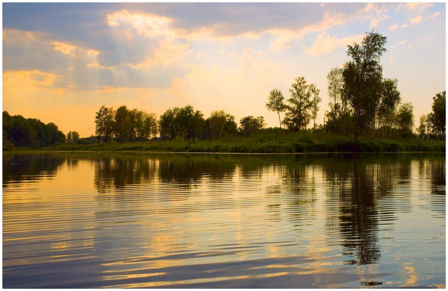 """фото """"симметрия # 2"""" метки: пейзаж, вода, облака"""
