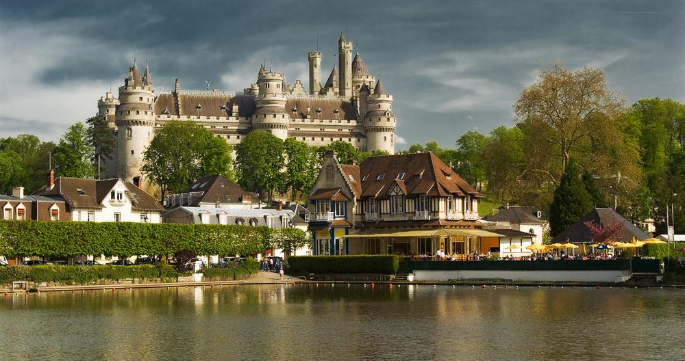 """photo """"Chаteau de Pierrefonds"""" tags: travel, architecture, landscape, Europe"""