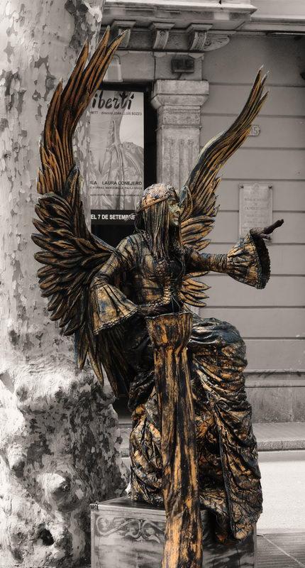"фото ""Уличный артист"" метки: путешествия,"