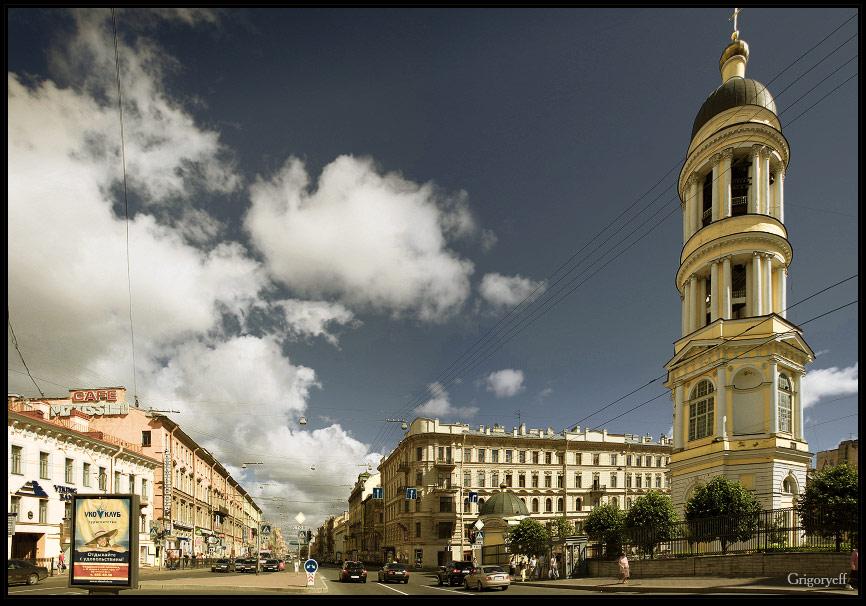 фото владимирского проспекта в питере комплекс находится самом