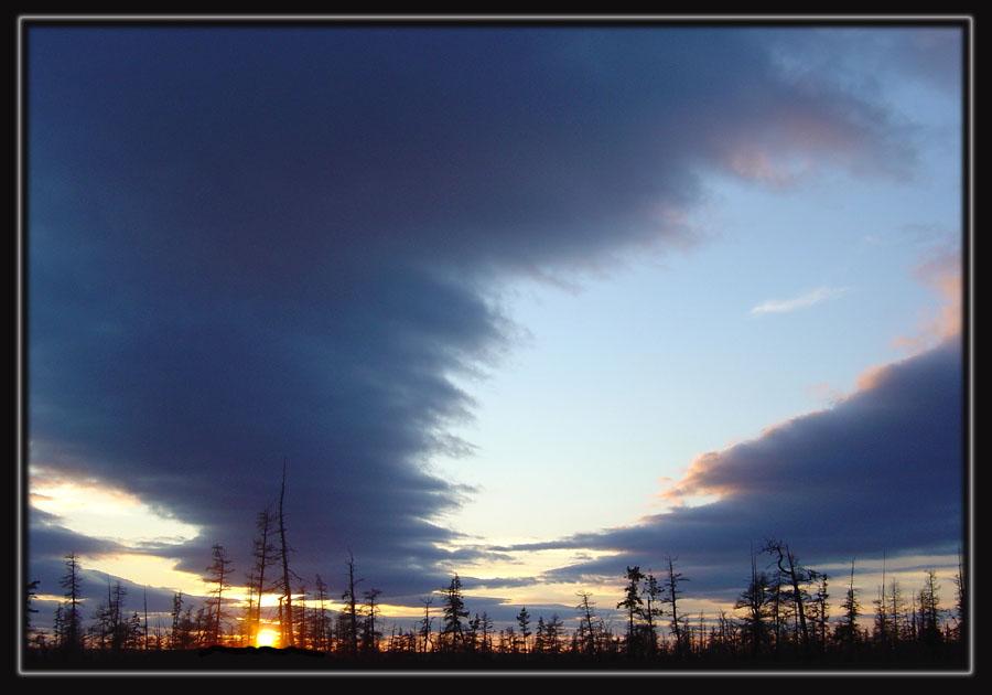 """photo """"***"""" tags: landscape, autumn, clouds"""