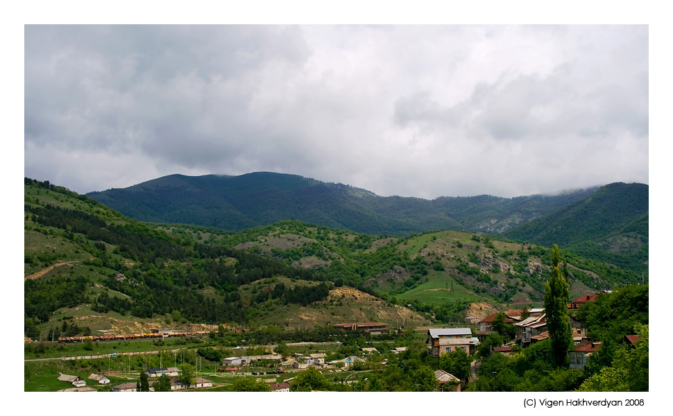 """photo """"Mountains of Dilijan"""" tags: landscape, travel, mountains"""