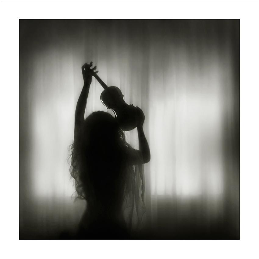 "photo ""La maladie"" tags: black&white,"