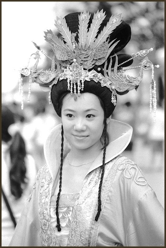 """photo """"Portrait-31-Actress"""" tags: portrait, black&white, woman"""