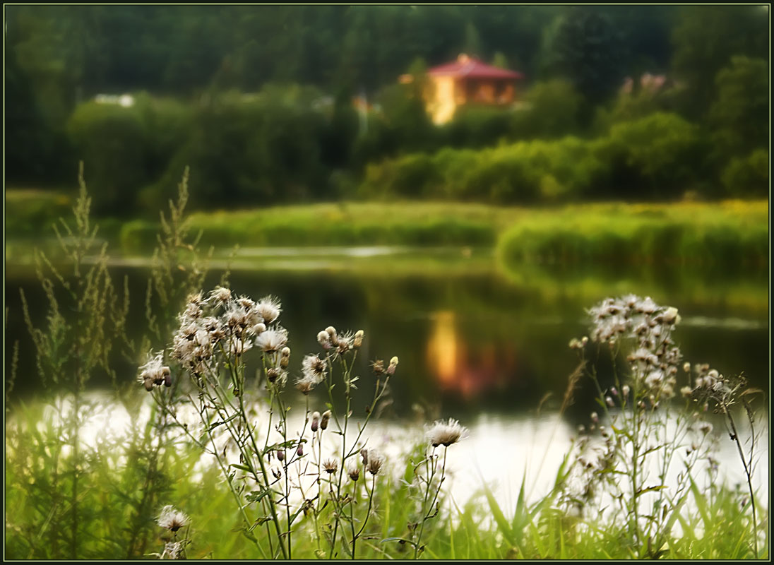 "photo ""Summer mirages"" tags: landscape, summer"