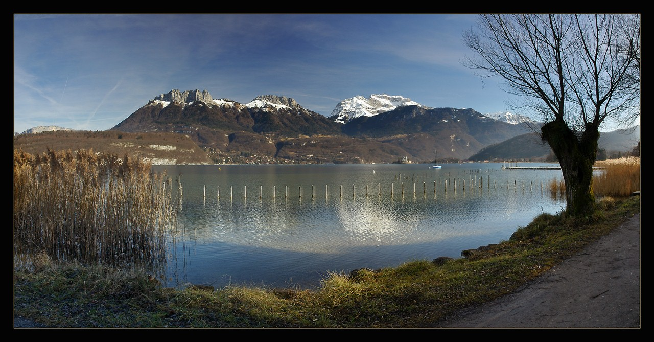 """photo """"Alps in Panoramic"""" tags: landscape, panoramic, mountains"""