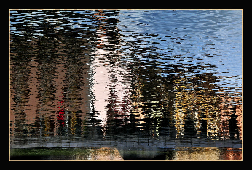 """photo """"Hounting Ghost In a Water Mirror"""" tags: abstract, reporting,"""