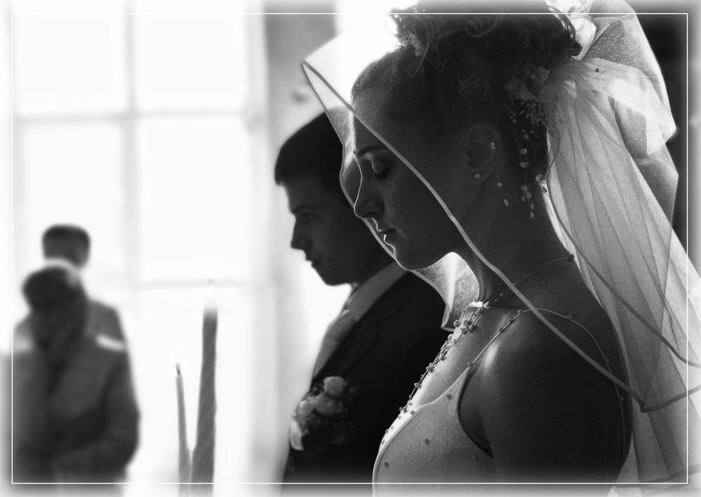 "фото ""Венчание"" метки: черно-белые,"