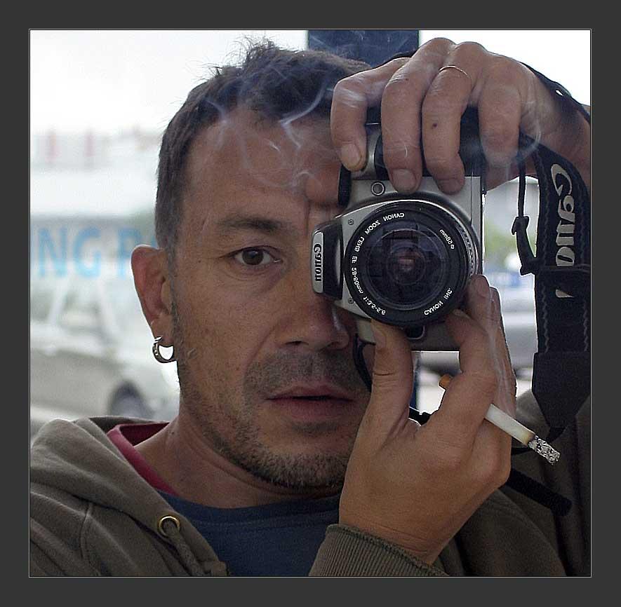 """photo """"selfportrait"""" tags: portrait, man"""