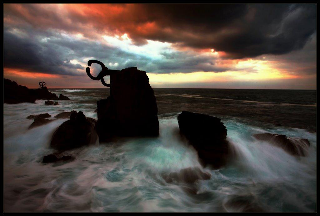 "photo ""Sea Art"" tags: landscape, architecture, water"