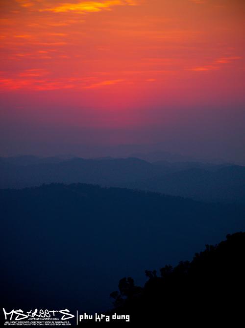 "photo ""Phu Kra Dung National Park"" tags: landscape, sunset"
