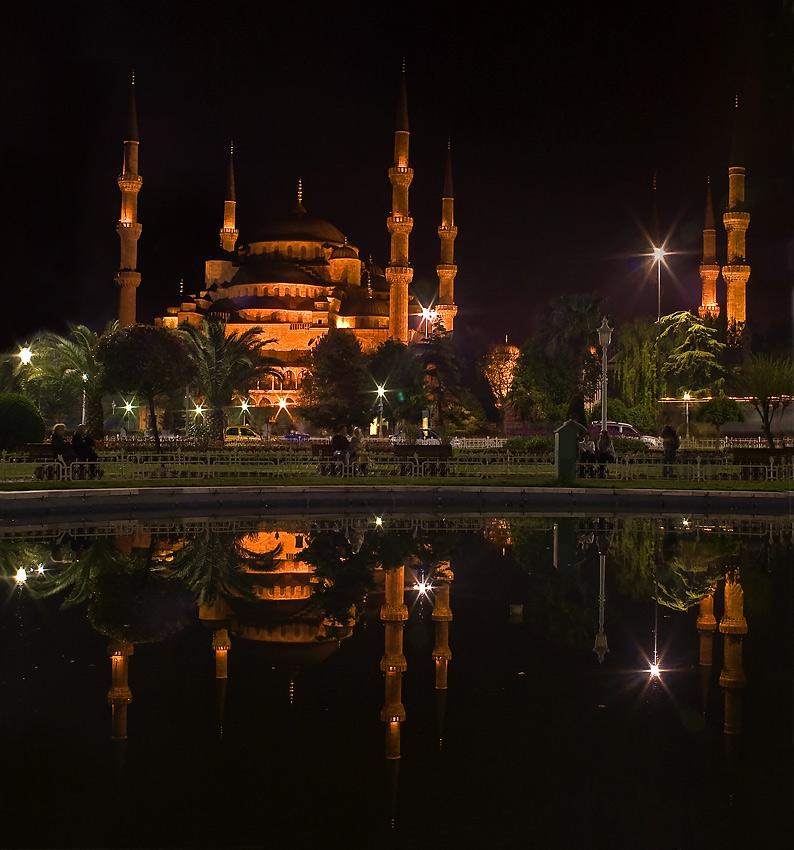 """фото """"Blue Mosque"""" метки: путешествия, Европа"""