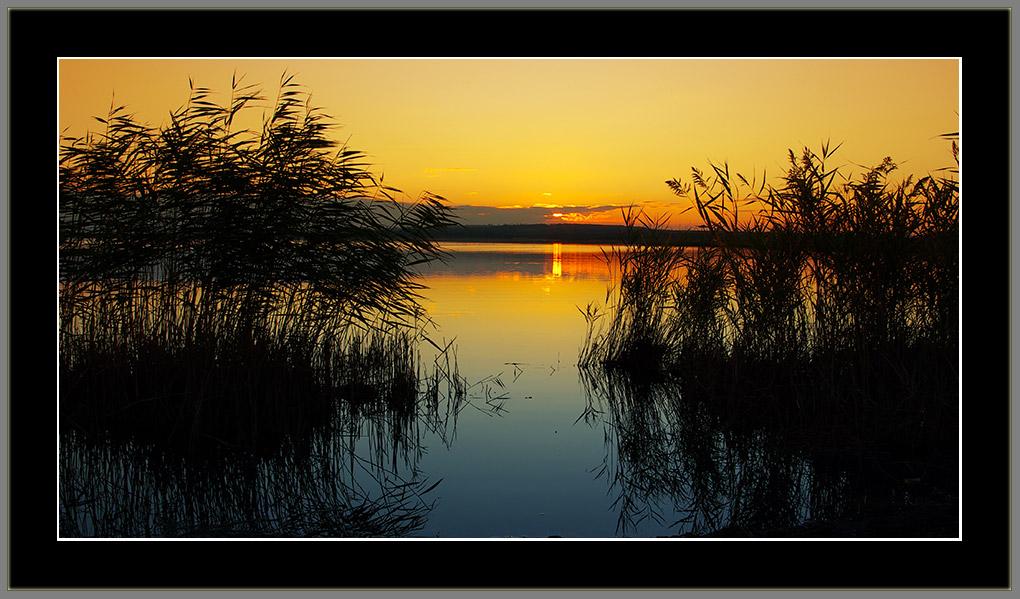 "фото ""Тихий вечер"" метки: пейзаж, закат"