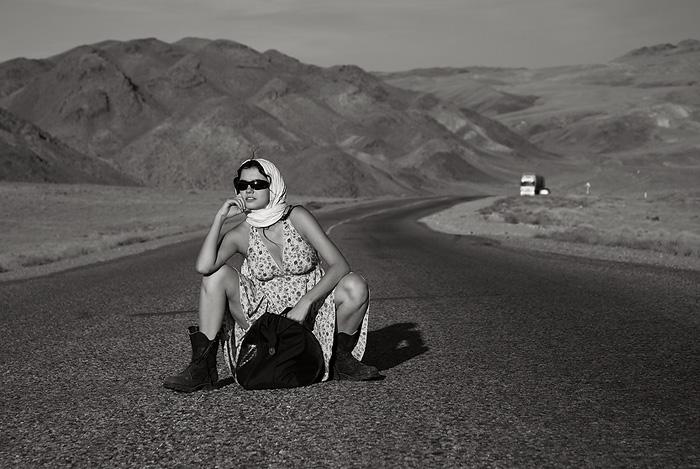 "фото ""Hitchiker"" метки: портрет, гламур, женщина"