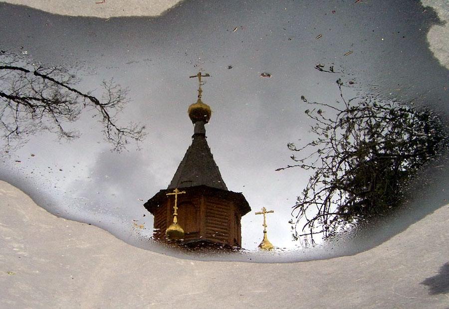 """фото """"После дождя в лужах появляются купола"""" метки: город,"""