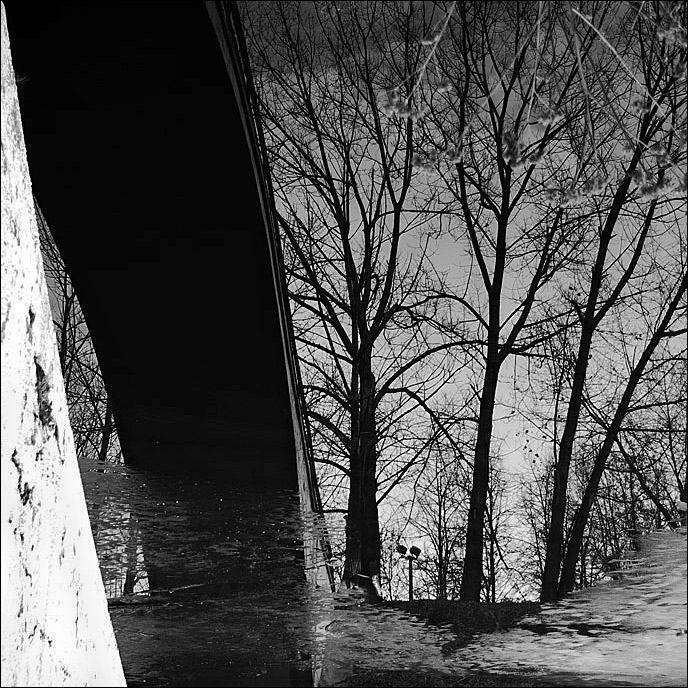 """фото """"Весна идет"""" метки: пейзаж, черно-белые, весна"""