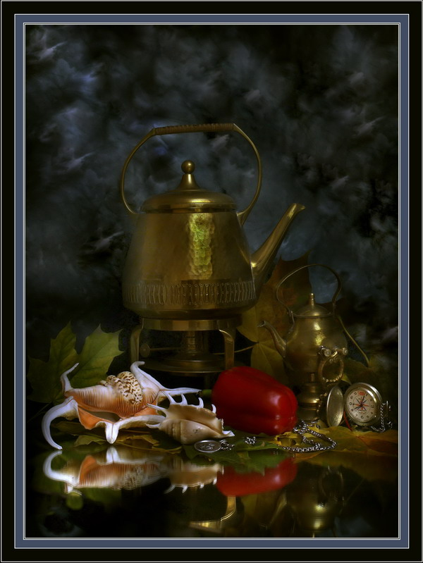 "фото ""Про чайники и перцы"" метки: натюрморт,"