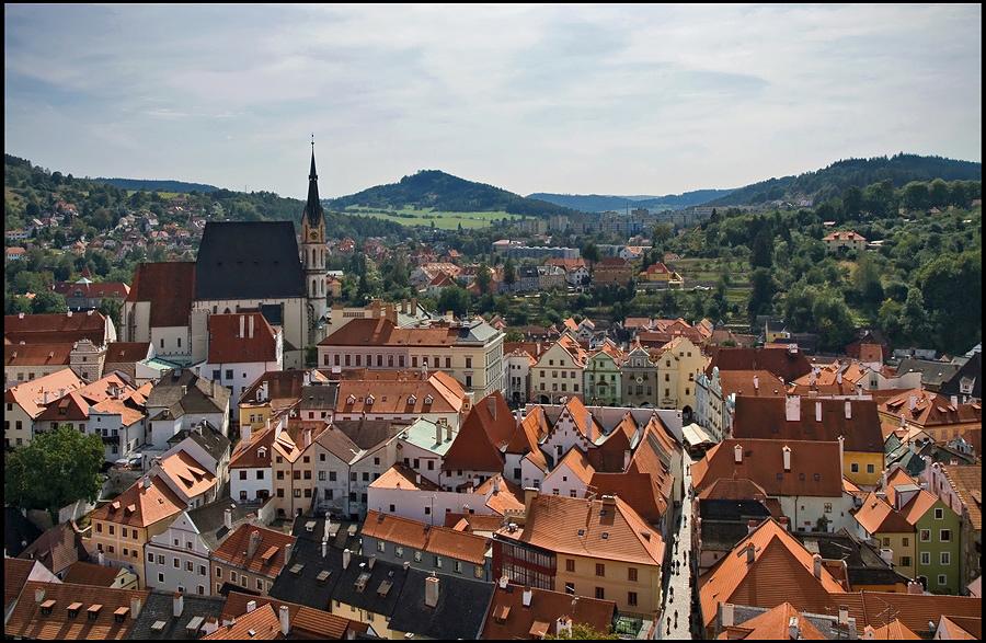 "фото ""Чешский Крумлов"" метки: архитектура, путешествия, пейзаж, Европа"