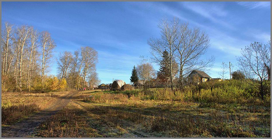 Фото Осень в деревне... - фотограф Алексей Патлах - пейзаж ...