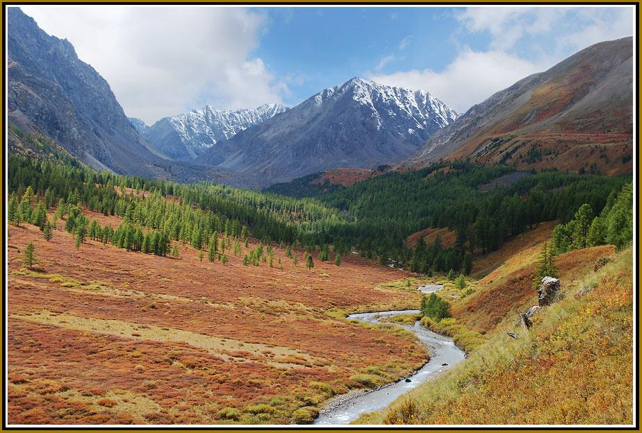 """фото """"Золотые поля"""" метки: пейзаж, горы"""