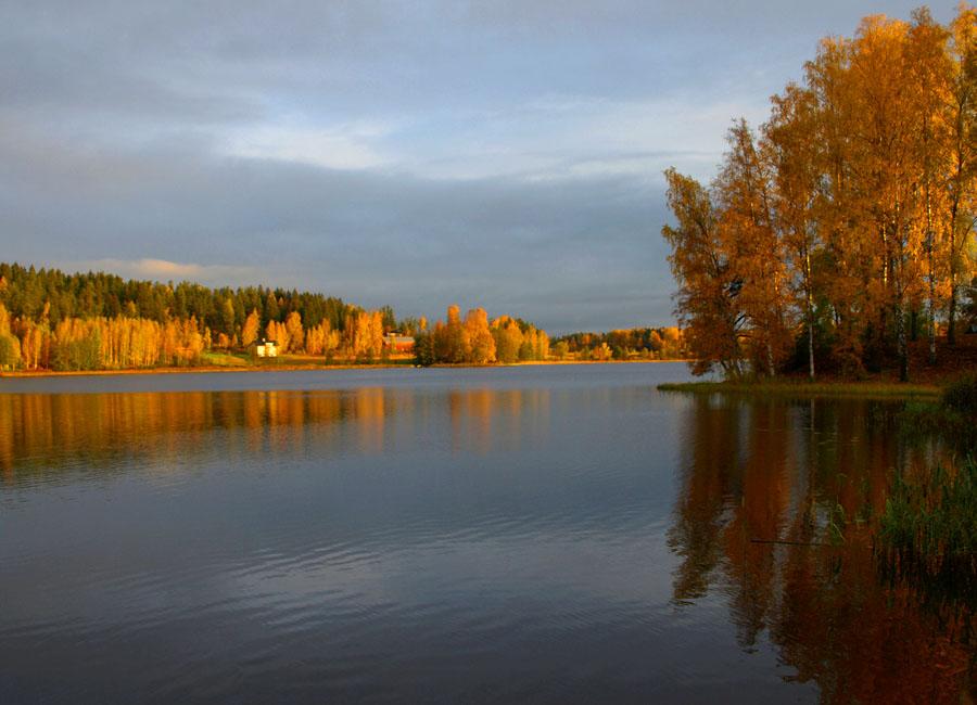 """фото """"Осенний пейзаж-2"""" метки: пейзаж, вода, осень"""