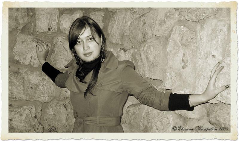 """фото """"Руины 2"""" метки: портрет, ретро, женщина"""
