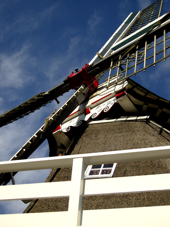 """photo """"classic windmill power"""" tags: architecture, landscape,"""