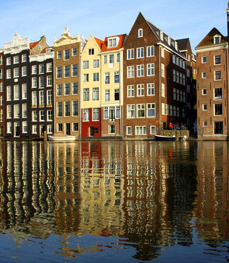 рыбак в амстердаме