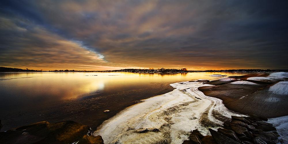 """фото """"Winterlight...."""" метки: пейзаж, вода, зима"""
