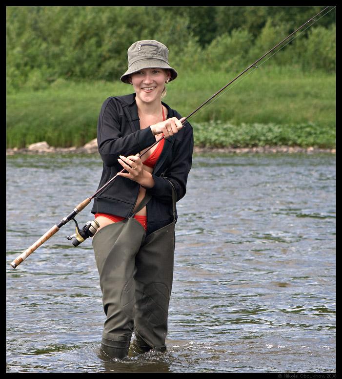 на велике на рыбалку
