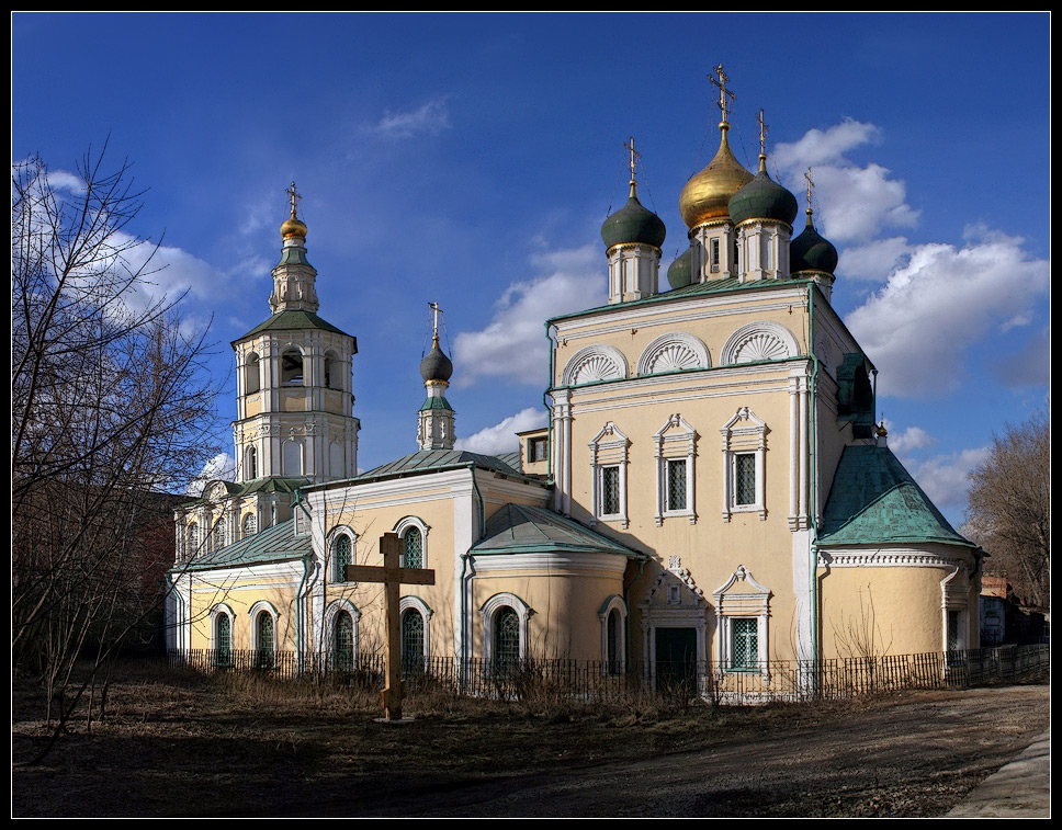 """photo """"Spring in Moscow"""" tags: architecture, city, landscape,"""