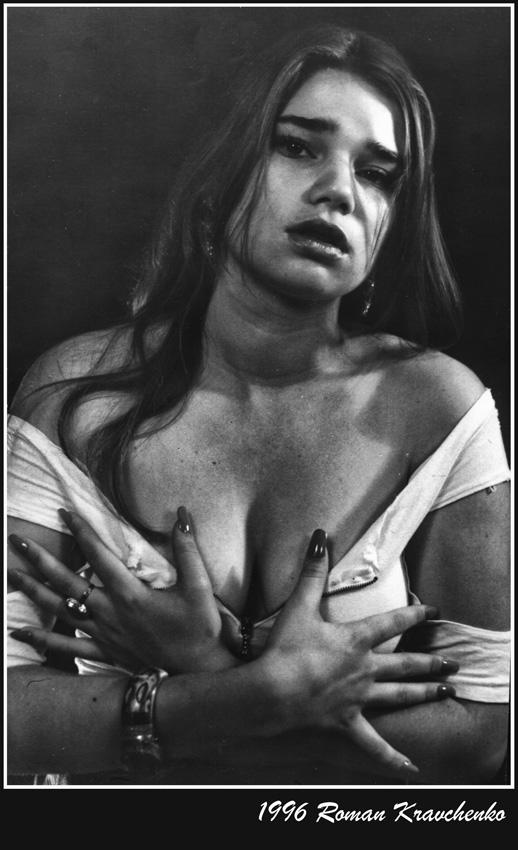 """фото """"Растерзанная"""" метки: портрет, черно-белые, женщина"""