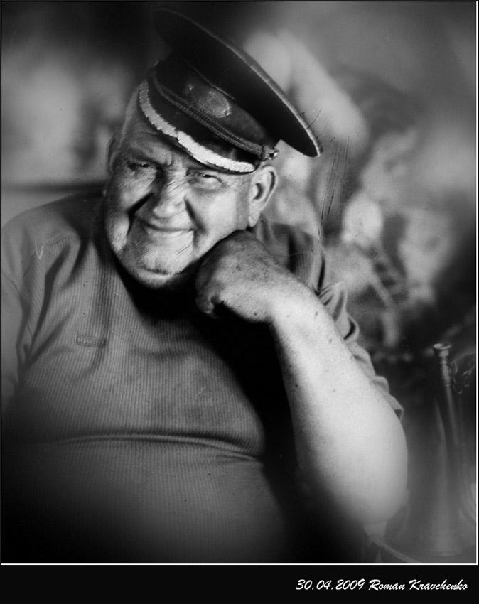 """фото """"Боцман"""" метки: портрет, черно-белые, мужчина"""