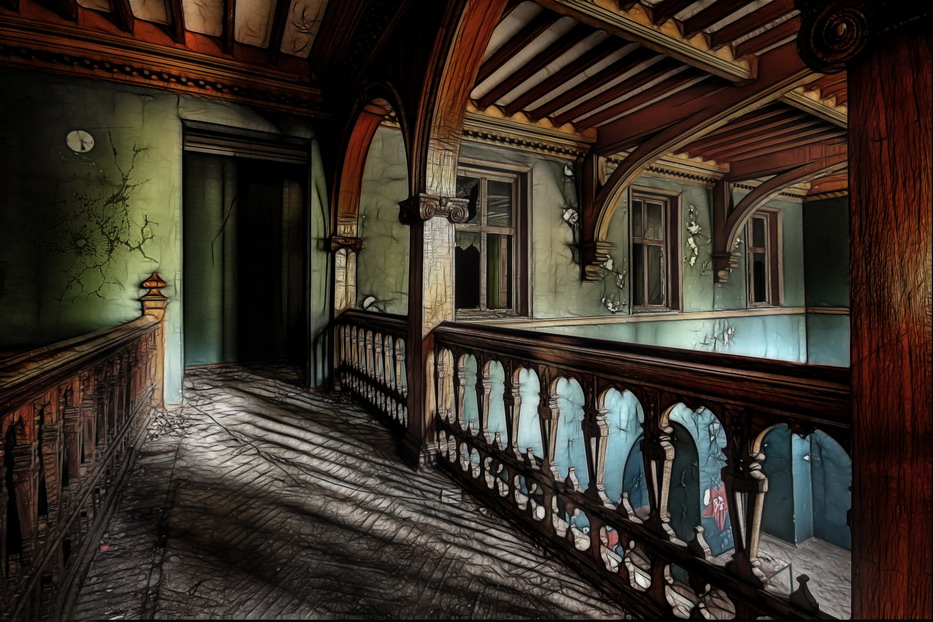Интерьеры английского замка