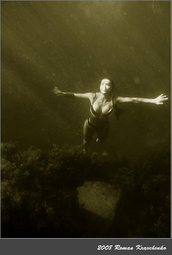 """фото """"*****"""" метки: подводные, черно-белые,"""